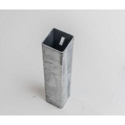 Bodenhülse für Absperrpfosten vierkant mit Dreikantverschluss